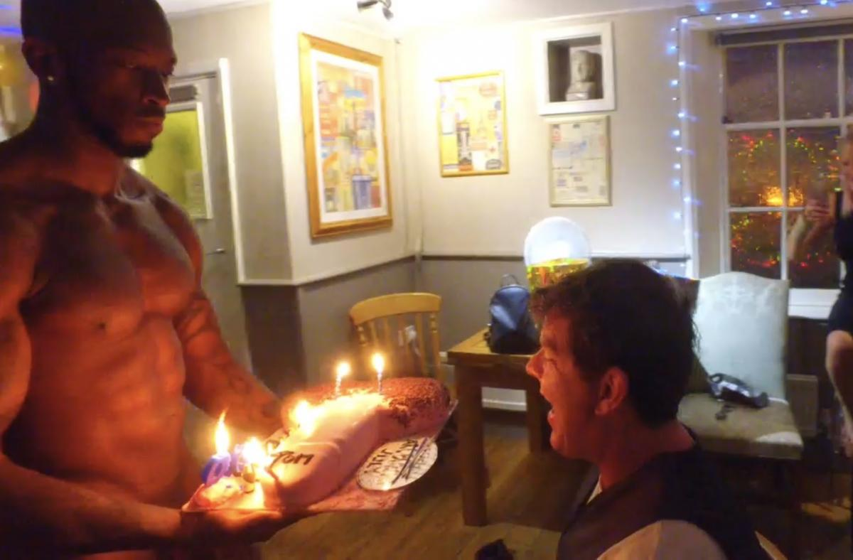 male stripper for birthdays - london