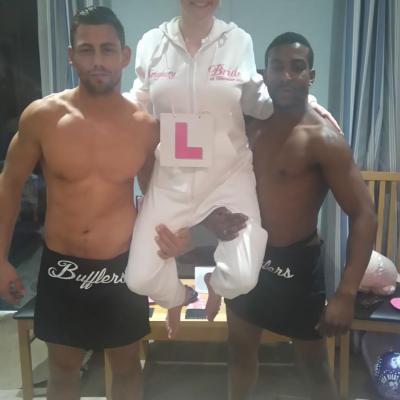 hire a butler in the buff in London