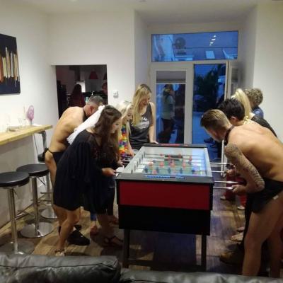 Topless Foosball